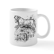 Worn Zodiac Aries Mug