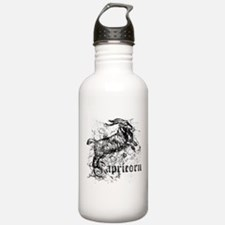 Worn Zodiac Capricorn Water Bottle
