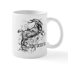 Worn Zodiac Capricorn Mug