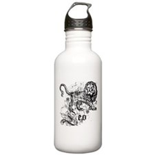Worn Zodiac Leo Water Bottle