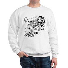 Worn Zodiac Leo Sweatshirt