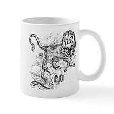 Worn Zodiac Leo Mug