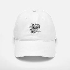 Worn Zodiac Scorpio Baseball Baseball Cap