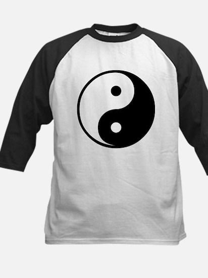 Yin Yang Symbol Kids Baseball Jersey
