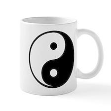 Yin Yang Symbol Small Mug