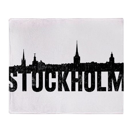 Stockholm Throw Blanket