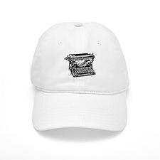 Old Fashioned Typewriter Baseball Cap