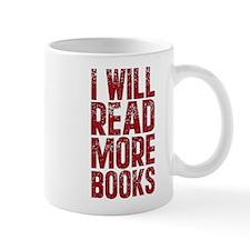 I Will Read More Books Mug