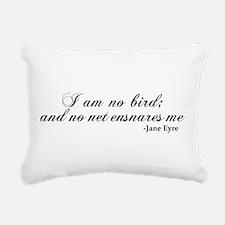 No Net Ensnares Me Rectangular Canvas Pillow