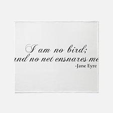 No Net Ensnares Me Throw Blanket
