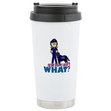 Police Canine Officer Travel Coffee Mug