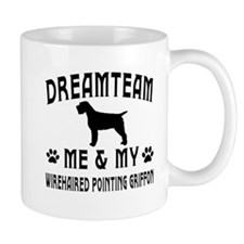 Wirehaired Pointing Griffon Dog Designs Mug
