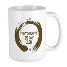 Photography is my Zen-1-sepia Mug