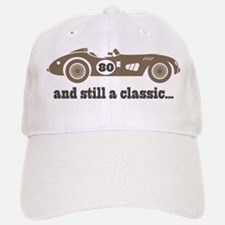 80th Birthday Classic Car Baseball Baseball Cap