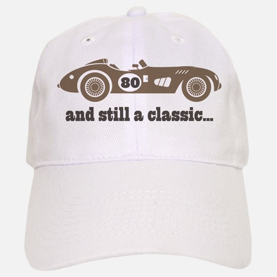80th Birthday Classic Car Baseball Baseball Cap