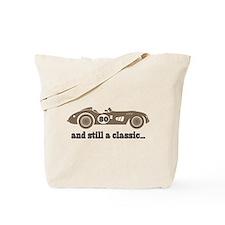 80th Birthday Classic Car Tote Bag