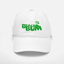 Green Beach Bum Baseball Baseball Baseball Cap