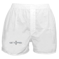 GET RIPPED - Fit Metal Designs Boxer Shorts