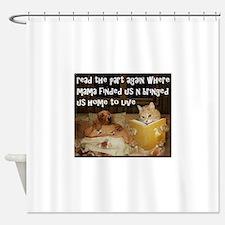 Adopt A Pet Shower Curtain