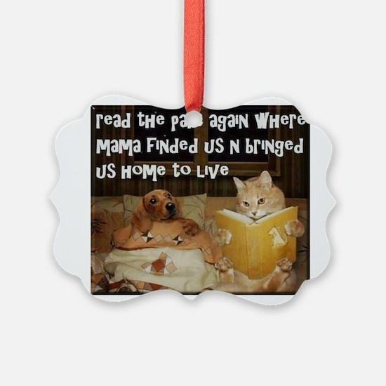 Adopt A Pet Ornament