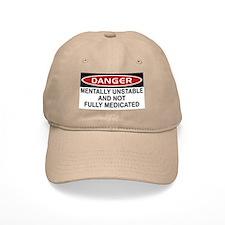 Danger Under Medicated Baseball Cap