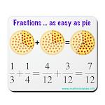Fractions Mousepad