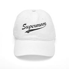 Vintage Super Mom Baseball Cap