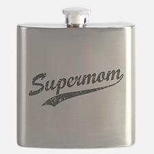 Vintage Super Mom Flask