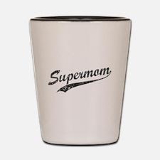 Vintage Super Mom Shot Glass
