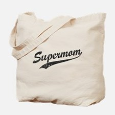 Vintage Super Mom Tote Bag