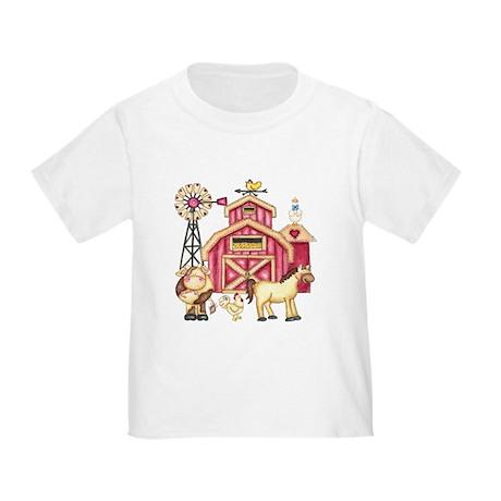 Barnyard Animals Toddler T-Shirt