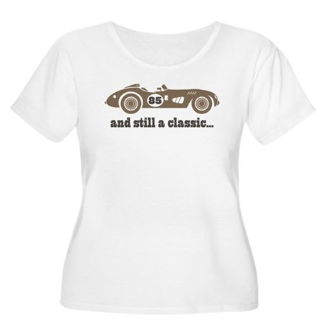 85th Birthday Classic Car Women's Plus Size Scoop