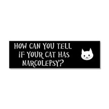 Cat Narcolepsy (Car Magnet)