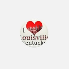 I Love Louisville Mini Button