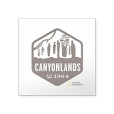 "Canyonlands Square Sticker 3"" x 3"""