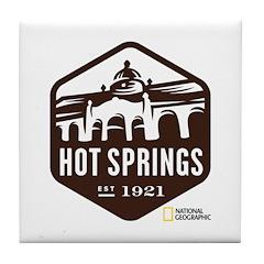 Hot Springs Tile Coaster