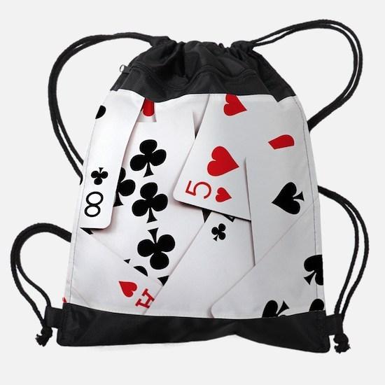 Cute Cribbage Drawstring Bag