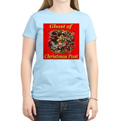 Ghost of Christmas Past Women's Pink T-Shirt