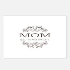 Mom 2011 - Vintage Quality Service Postcards (Pack