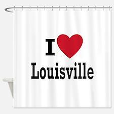 I Love Cities-Louisville-Wilbert Shower Curtain