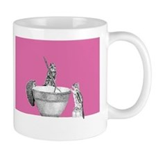 Pink mixing bowl Mug