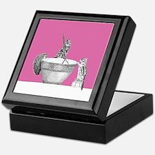 Pink mixing bowl Keepsake Box