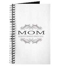 Mom 2012 - Vintage Quality Service Journal