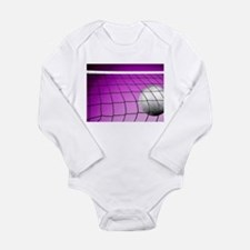 Purple Volleyball Net Body Suit