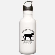 Dogue de Bordeaux dog breed designs Sports Water Bottle
