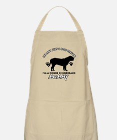 Dogue de Bordeaux dog breed designs Apron
