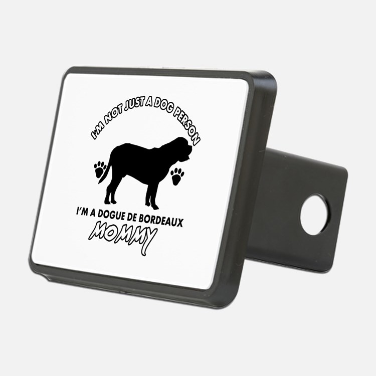 Dogue de Bordeaux dog breed designs Hitch Cover