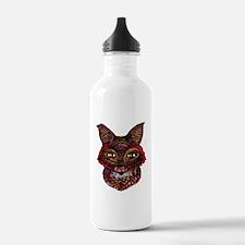 Fox Patterns Sports Water Bottle