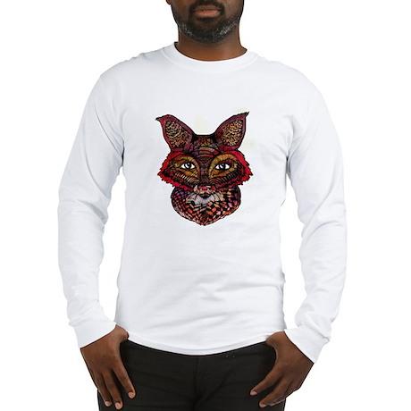 Fox Patterns Long Sleeve T-Shirt