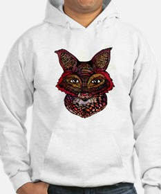 Fox Patterns Jumper Hoody